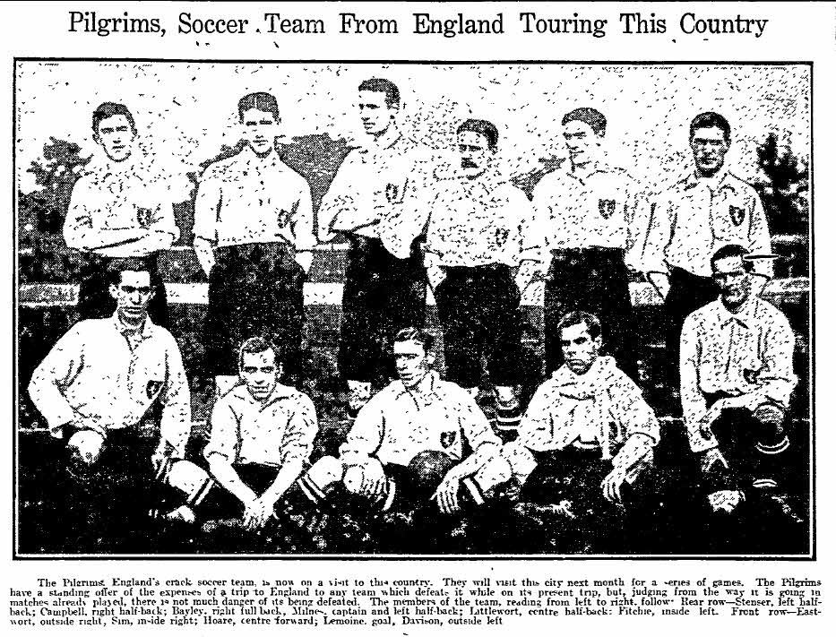 Great moments in Philly soccer history: Philadelphia Hibernians beat the Pilgrims, 1909